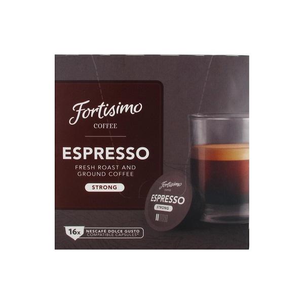 Koffie vergelijk ervaringen Fortisimo Espresso Dolce Gusto