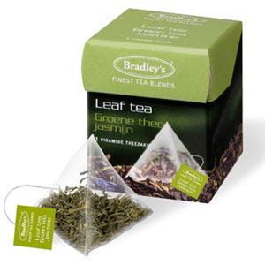 Bradley piramini groene thee jasmijn