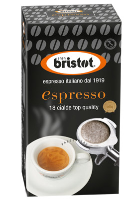Bristot Espresso ESE-Servings