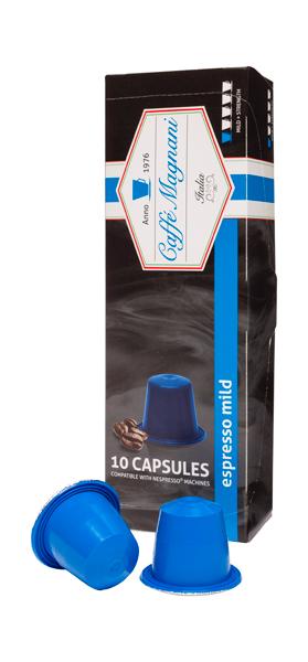Caffé Magnani capsules espresso mild