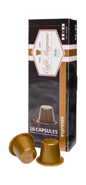 Caffé Magnani capsules espresso