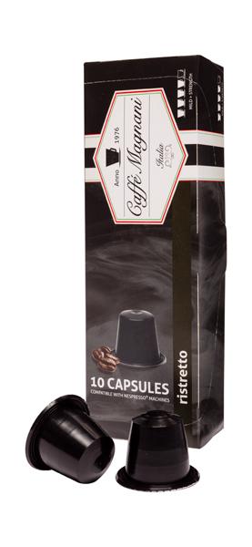 Caffé Magnani capsules ristretto