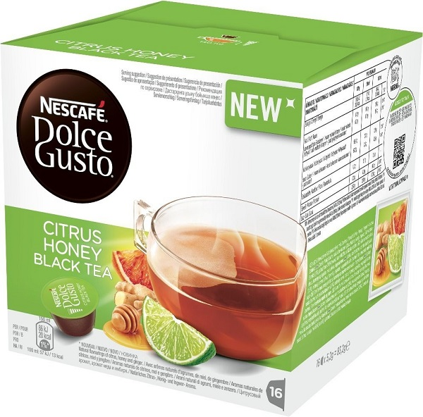 Dolce Gusto Citrus Honey Black Tea