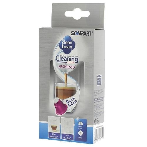 Koffie vergelijk ervaringen Scanpart Clean Bean reinigingsset Nespresso