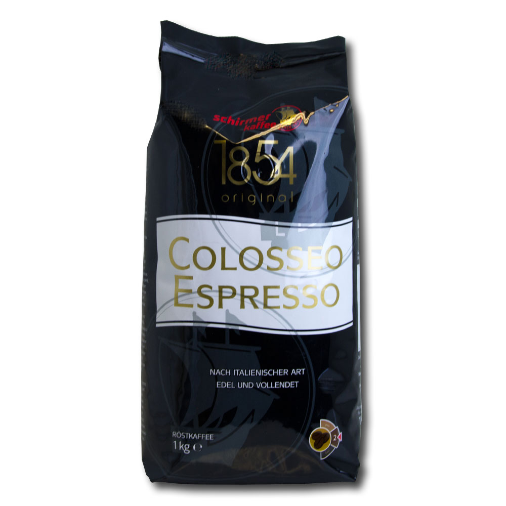 Schirmer Colosseo Espresso koffiebonen