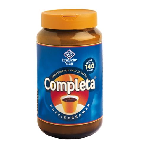 Koffie vergelijk ervaringen Completa Koffiecreamer