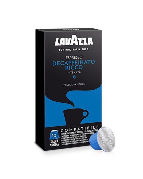 Lavazza Espresso Decaffeinato Ricco capsules