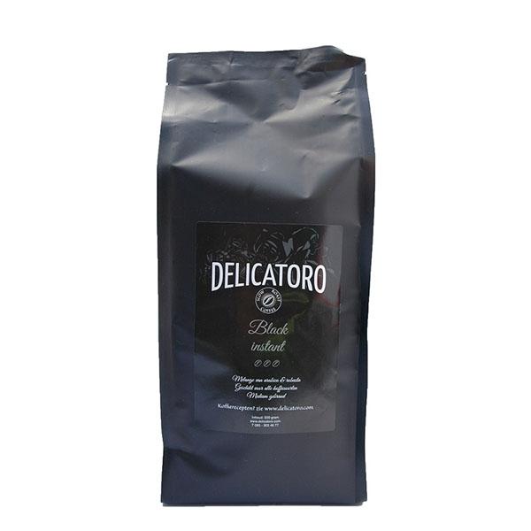 Koffie vergelijk ervaringen Delicatoro Black instant koffie