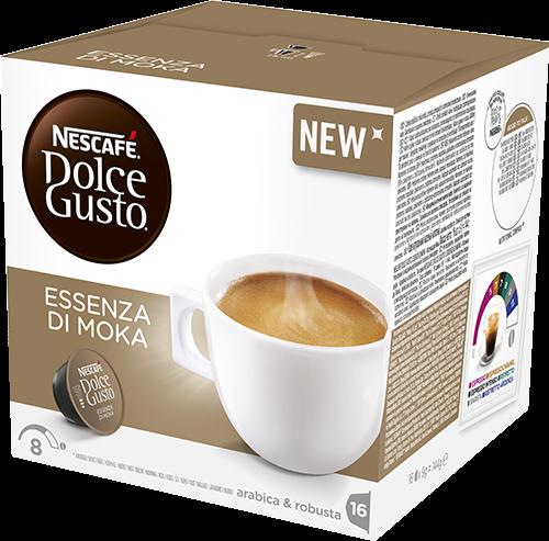 Koffie vergelijk ervaringen Dolce Gusto Essenza di Moka