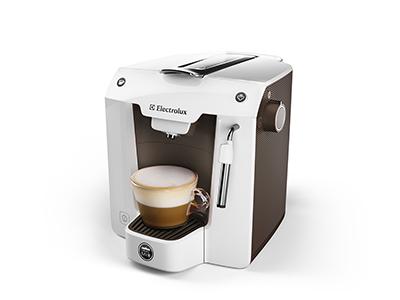 Electrolux favola wit bruin koffiemachines koffievergelijk - Machine a cafe electrolux ...
