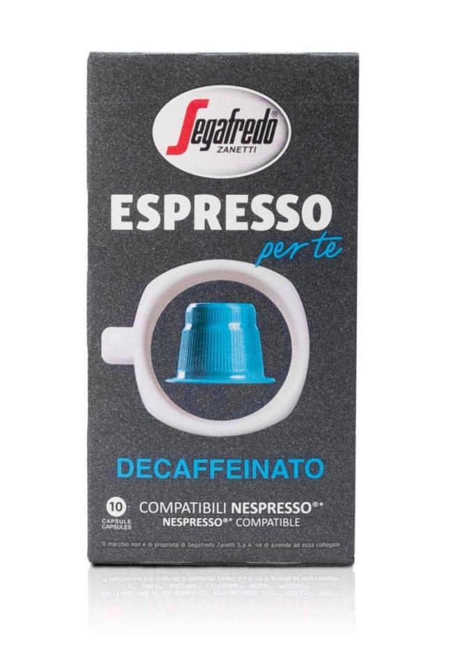 Segafredo Per Te Deca Nespresso
