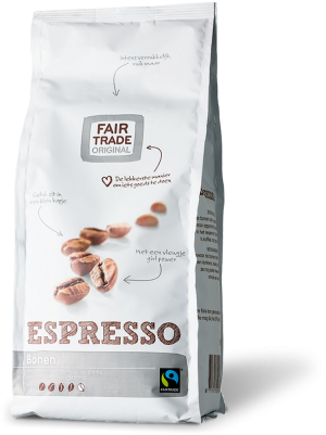 Fair Trade Original Espresso koffiebonen