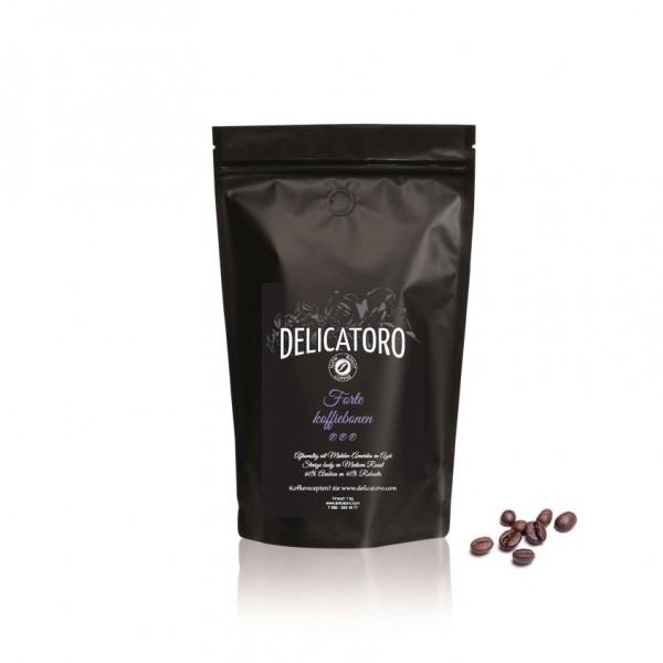 Koffie vergelijk ervaringen Delicatoro Forte koffiebonen
