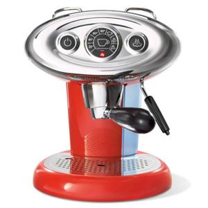Koffie vergelijk ervaringen Illy Francis Francis X7.1 Rood