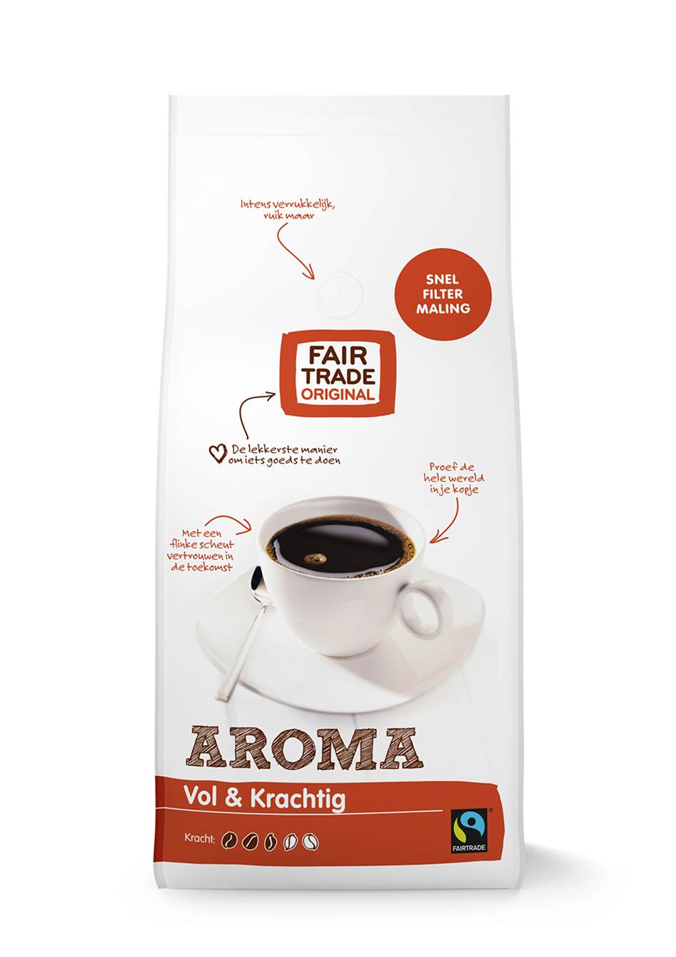 Fair Trade Original Aroma snelfilter 1000 gram