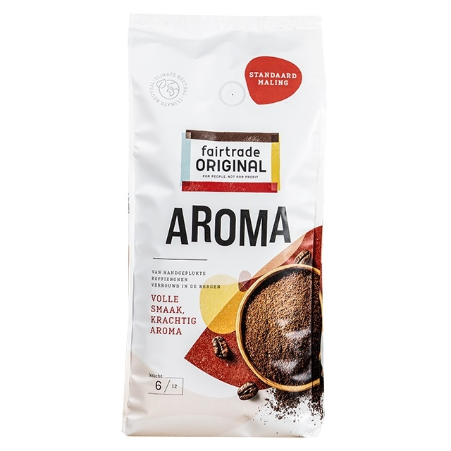 Fair Trade Original Aroma standaard maling 1000 gram