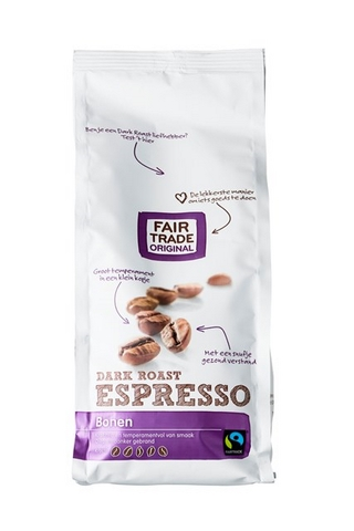 Fair Trade Original Espresso Dark Roast koffiebonen