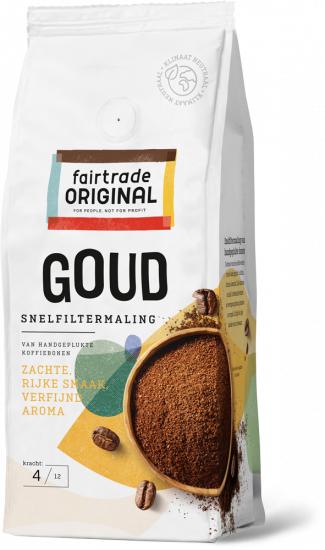 Fair Trade Original Goud snelfilter