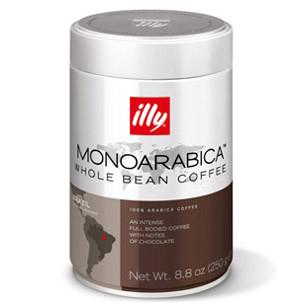 Illy koffiebonen Monoarabica Brazilië