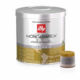 Illy Monoarabica Colombia Iperespresso capsules