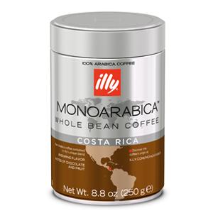 Illy koffiebonen Monoarabica Costa Rica