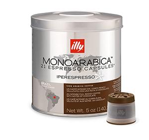 Illy MIE-capsules Monoarabica Brazilië