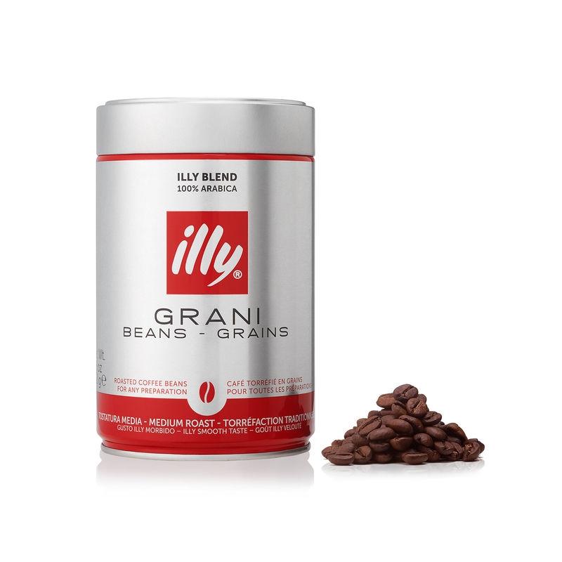 Illy koffiebonen normale branding