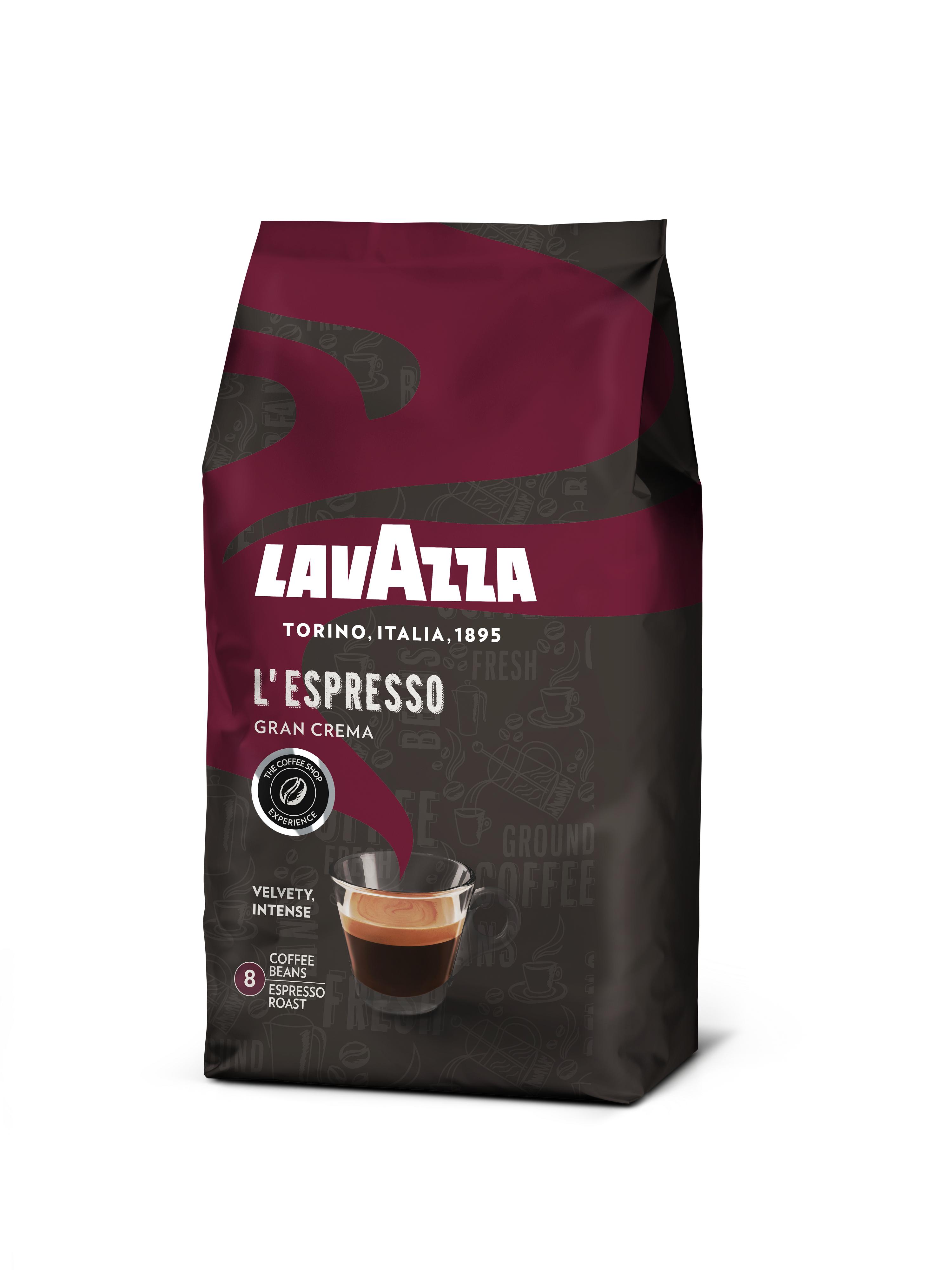 Koffie vergelijk ervaringen Lavazza L'Espresso Gran Crema koffiebonen