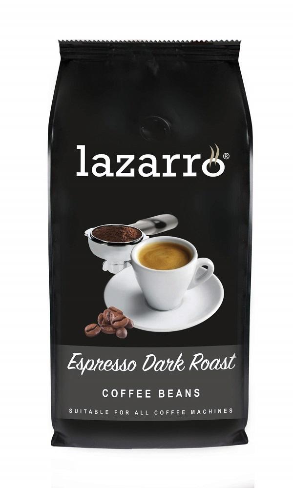 Koffie vergelijk ervaringen Lazarro Espresso Dark Roast koffiebonen