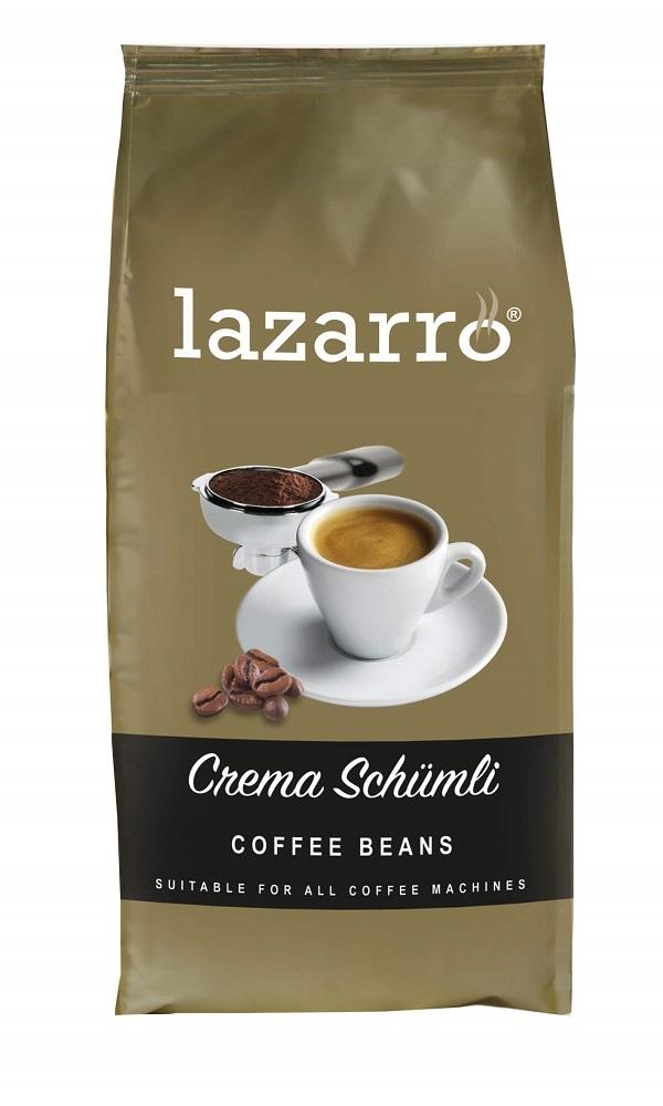 Koffie vergelijk ervaringen Lazarro Crema Schumli koffiebonen