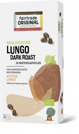 Koffie vergelijk ervaringen Fair Trade Original Lungo Dark Roast capsules