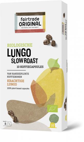 Koffie vergelijk ervaringen Fair Trade Original Lungo Slow Roast capsules