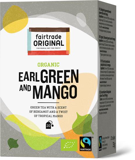 Fair Trade Original thee Earl Green Mango