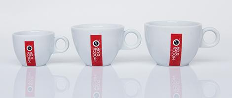 Mocca dOr espresso kop en schotel