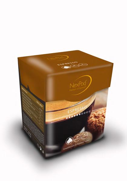 NexPod Oro espresso