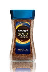 Nescafé Gold cafeïnevrij oploskoffie