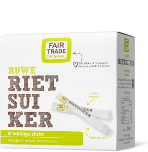 Fair Trade Original Rietsuiker sticks