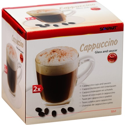 Scanpart cappuccino kop en schotel