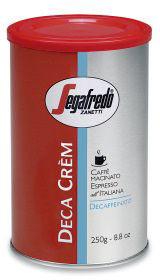 Segafredo Deca Crem gemalen koffie