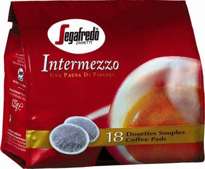 Segafredo Intermezzo soft koffiepads