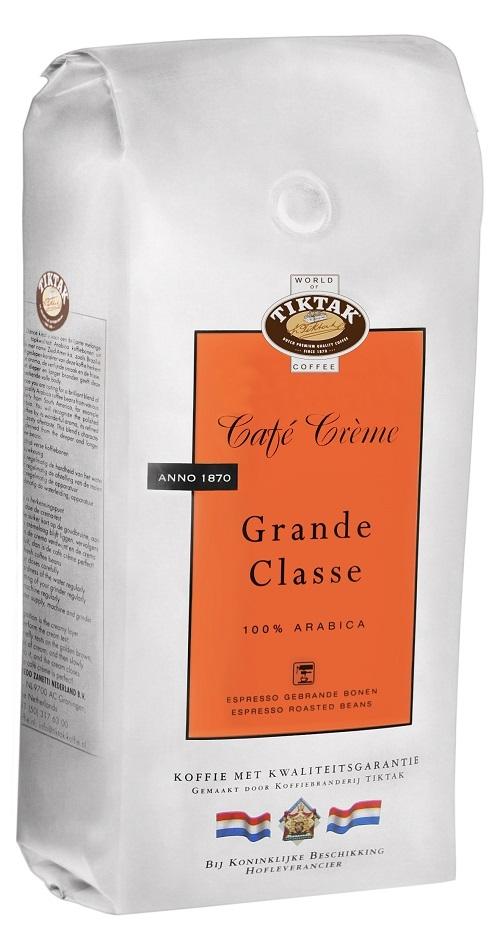 Tiktak Caf� Creme Grande Classe koffiebonen