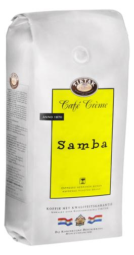 Tiktak Café Creme Samba koffiebonen